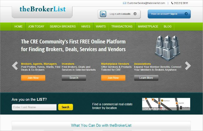 The Broker List