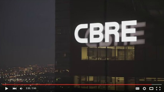 CBRE group is top of commercial real estate companies