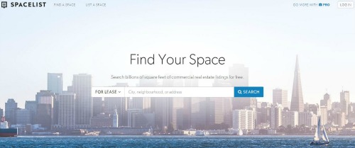 Find office space with SpaceList