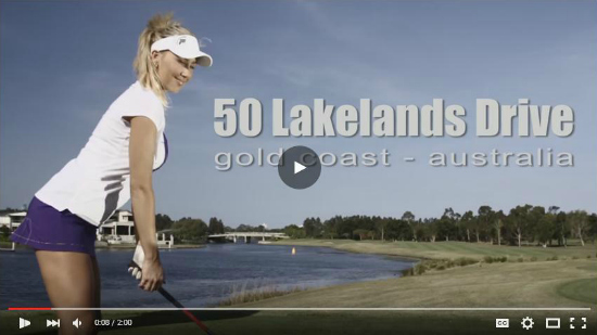 Best real estate ads featuring Playboy model golfing