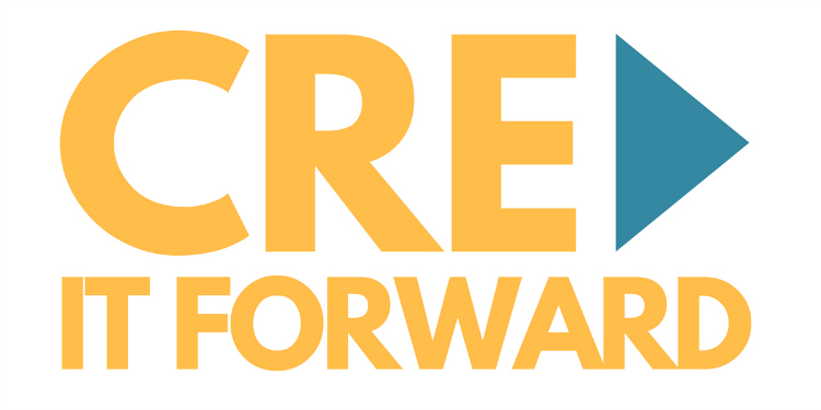 CRE It Forward Charity for commercial real estate pros