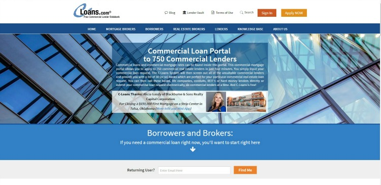 c-loans commercial real estate