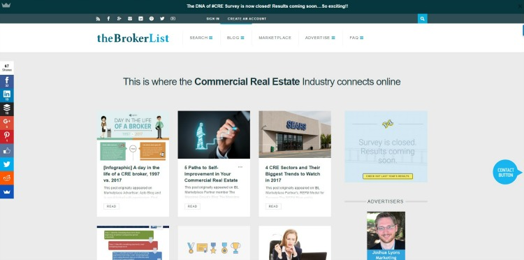 the broker list commercial real estate